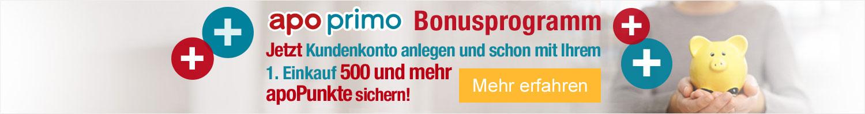 apoprimo - Das Bonusprogramm Ihrer Online-Apotheke