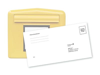 Brief und Briefkasten