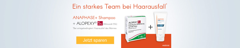 Jetzt Anaphase+ Shampoo und Alopex 5 günstig online kaufen!