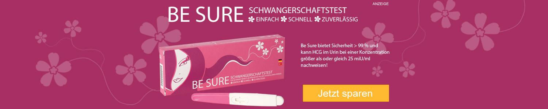 Jetzt Be Sure Schwangerschaftstest günstig online kaufen!