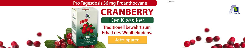 Jetzt Cranberry Kapseln günstig online kaufen!