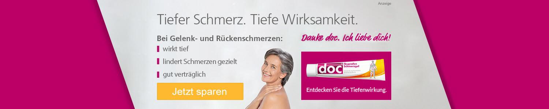 Jetzt Doc Ibuprofen Schmerzgel günstig online kaufen!