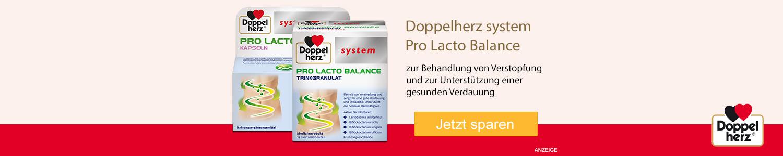 Jetzt Doppelherz system Pro Lacto Balance günstig online kaufen!