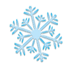 Dekobild - Schneeflocke