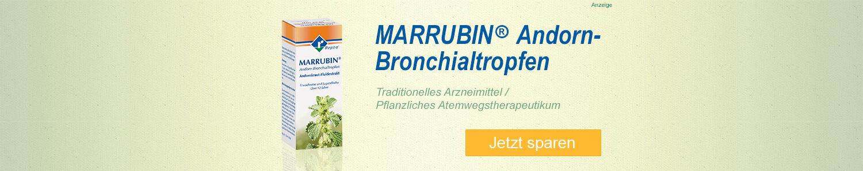 Jetzt MARRUBIN Andorn-Bronchialtropfen günstig online kaufen!