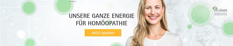 Unsere ganze Energie für Homöopathie