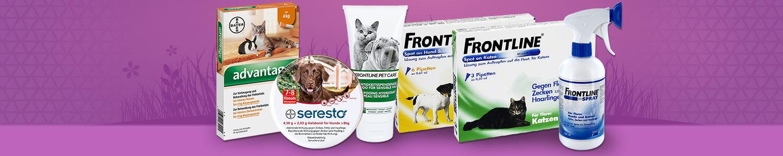 Jetzt günstig online Tierarzneimittel kaufen!