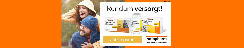 Jetzt Ratiopharm Produkte günstig online kaufen!