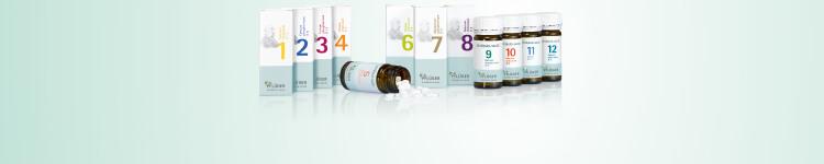 Schüßler-Salze Basissalze 1 - 12