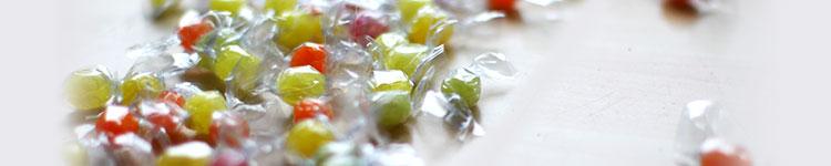 Bonbons und Pastillen