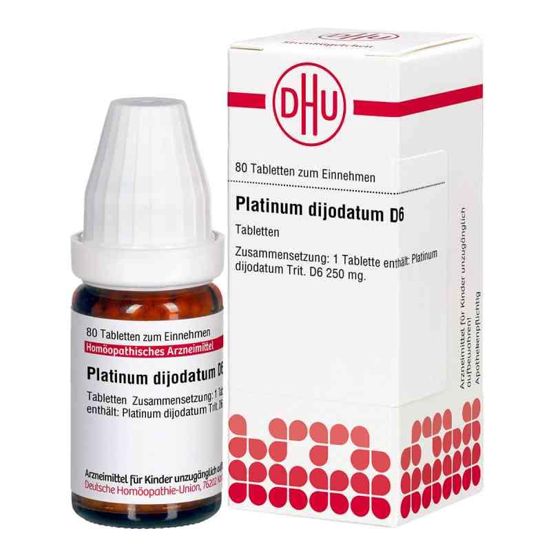 Platinum Dijodatum D6 Tabletten  bei apo.com bestellen