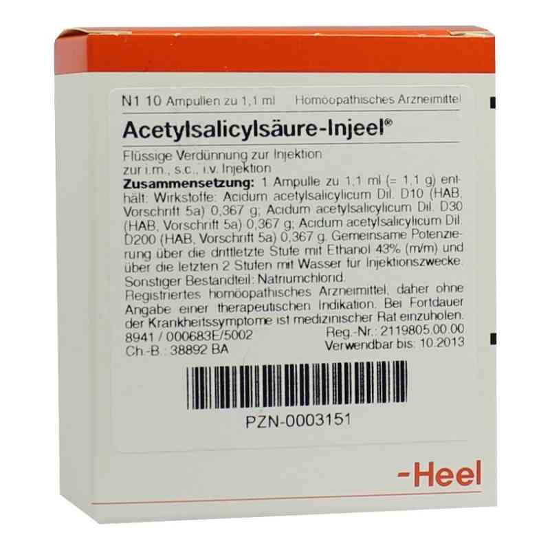 Acetylsalicylsäure Injeel Ampullen  bei apo.com bestellen