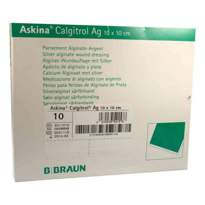 Askina Calgitrol Ag 10x10cm  bei apo.com bestellen