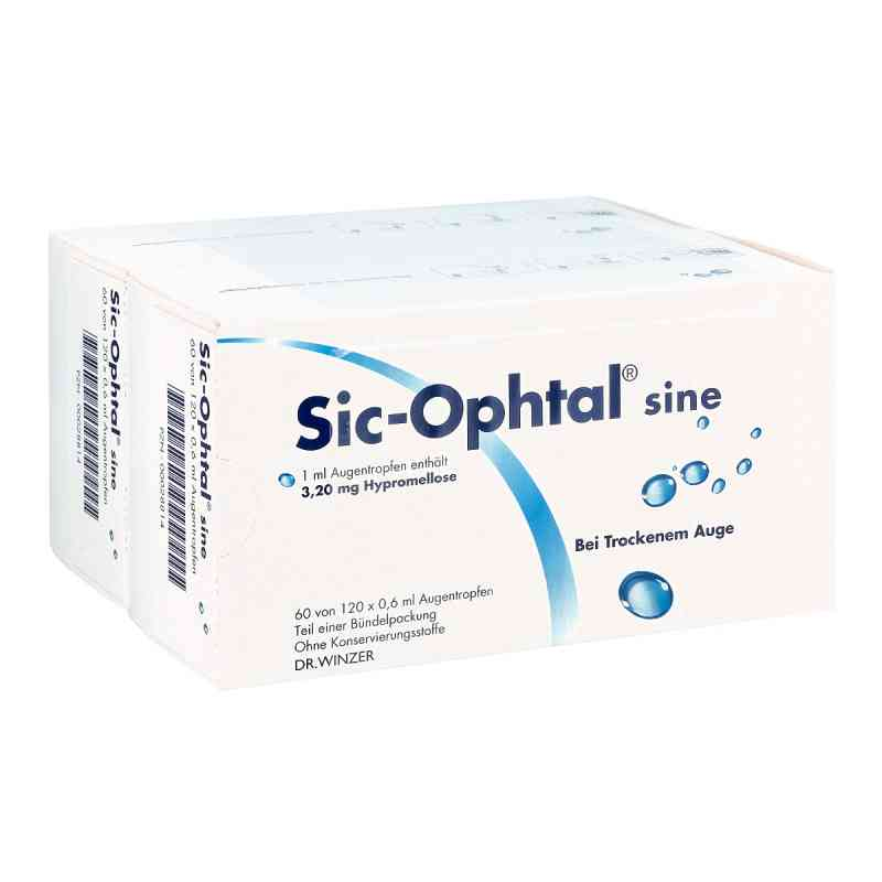 Sic Ophtal sine Augentropfen  Augentropfen  bei apo.com bestellen