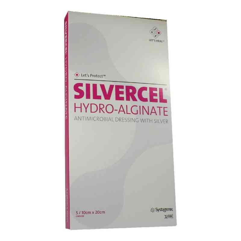 Silvercel Hydroalginat Verband 10x20cm  bei apo.com bestellen