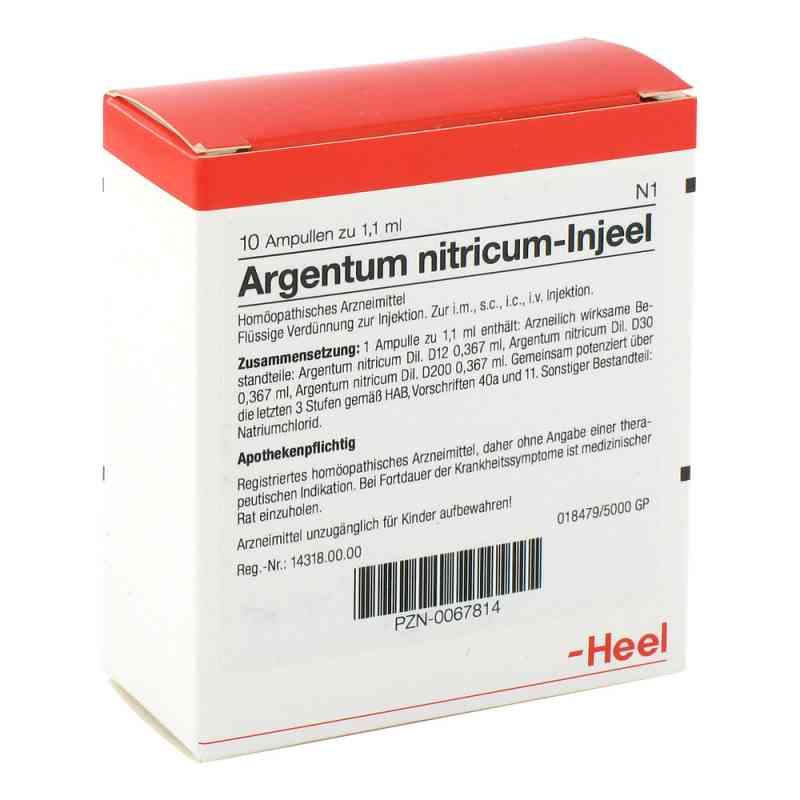 Argentum Nitricum Injeel Ampullen  bei apo.com bestellen