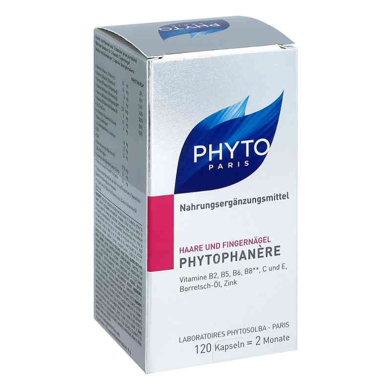 Phytophanere Nahrungsergänzung Haare+nägel Kapseln  bei apo.com bestellen