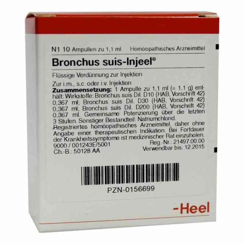 Bronchus suis Injeel Ampullen  bei apo.com bestellen