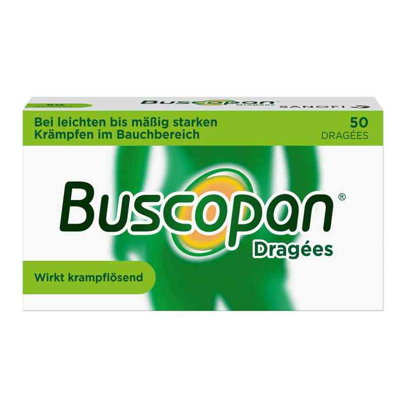 Buscopan Dragées bei leichten bis moderaten Bauchkrämpfen  bei apo.com bestellen