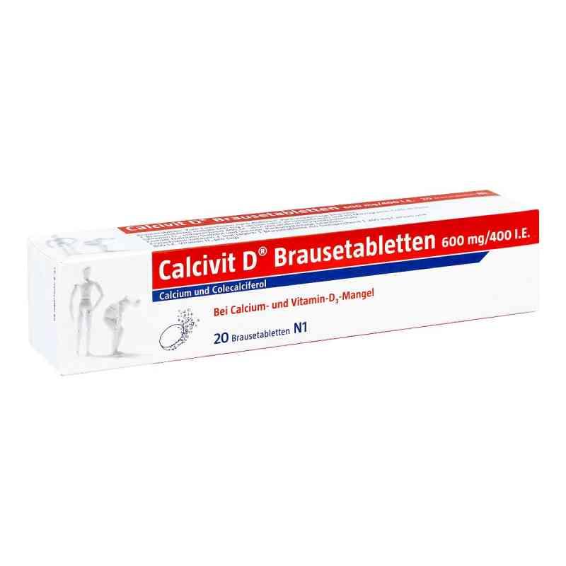 Calcivit D Brausetabletten 600mg/400 internationale Einheiten  bei apo.com bestellen