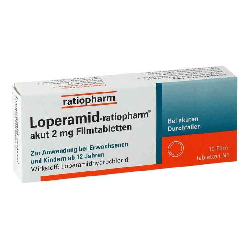 Loperamid-ratiopharm akut 2mg  bei apo.com bestellen