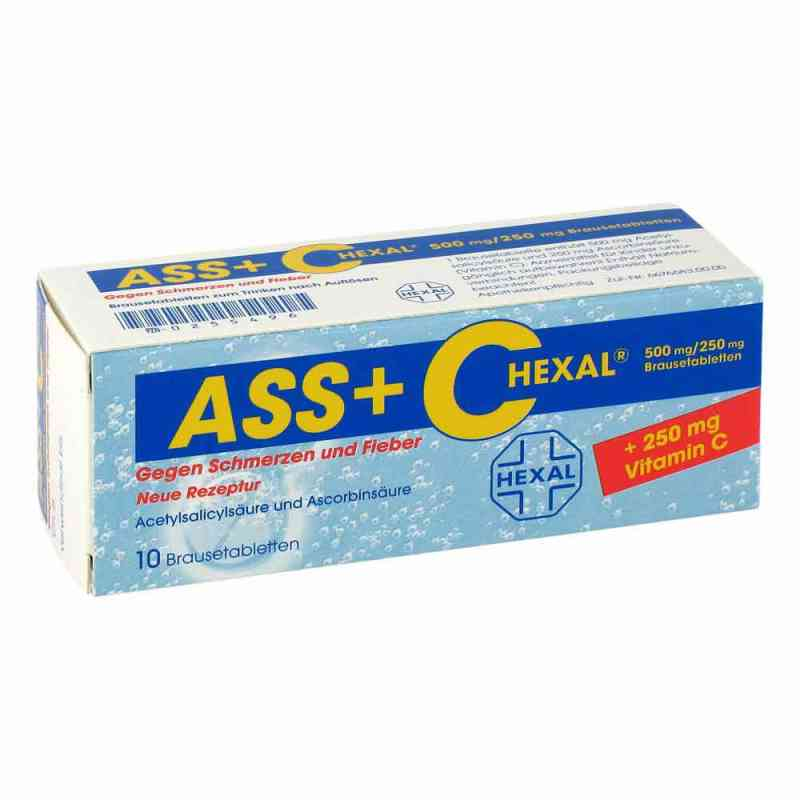 ASS+C HEXAL gegen Schmerzen und Fieber  bei apo.com bestellen