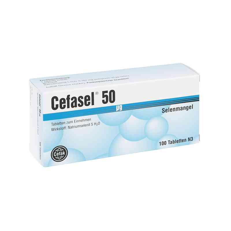 Cefasel 50 [my]g Tabletten  bei apo.com bestellen