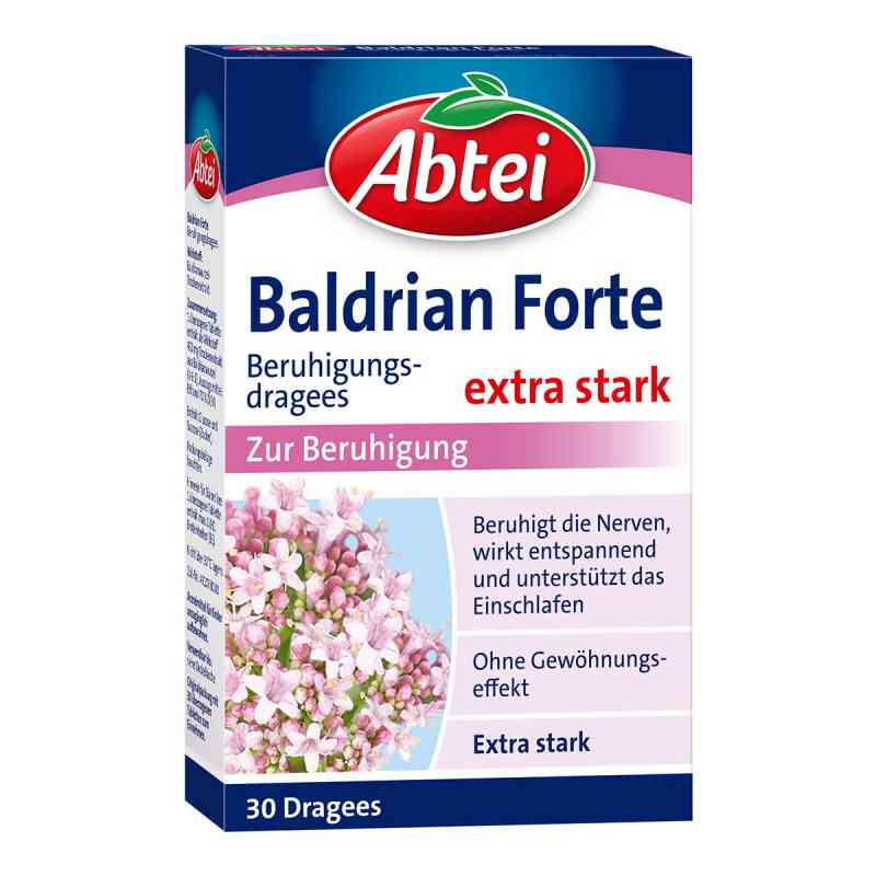 Abtei Baldrian forte Beruhigungsdragees  bei apo.com bestellen