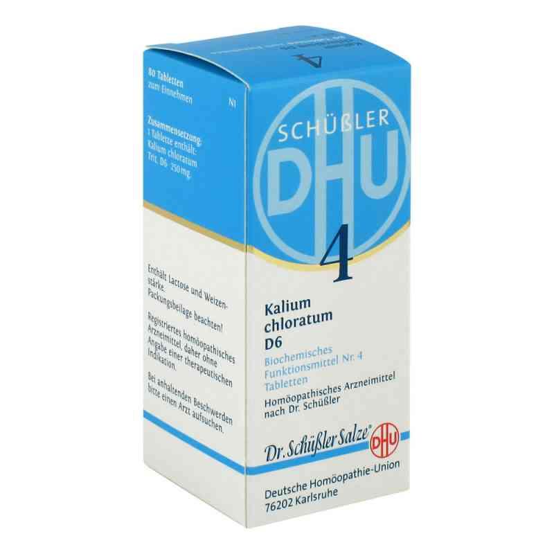 Biochemie Dhu 4 Kalium chlorat. D 6 Tabletten bei apo.com bestellen