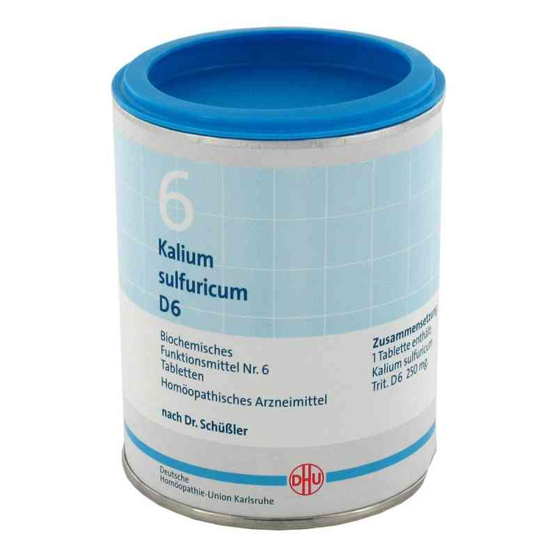 Biochemie Dhu 6 Kalium Sulfur D  6 Tabletten  bei apo.com bestellen