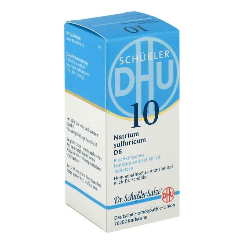 Biochemie Dhu 10 Natrium Sulfur D  6 Tabletten bei apo.com bestellen