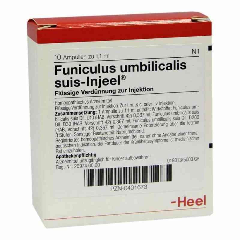 Funiculus Umbilicalis suis Injeel Ampullen bei apo.com bestellen