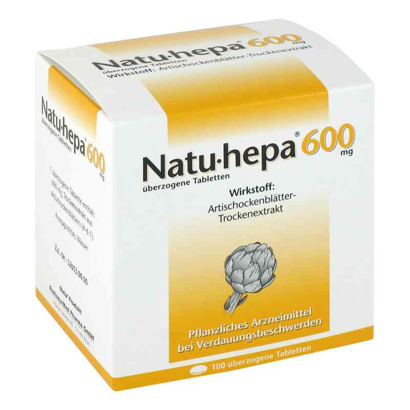 Natu-hepa 600mg  bei apo.com bestellen