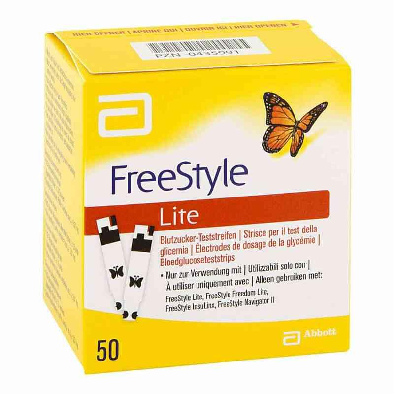Freestyle Lite Teststreifen ohne Codieren  bei apo.com bestellen