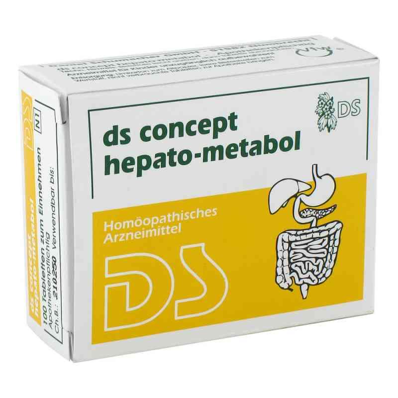 Ds Concept Hepato Metabol Tabletten  bei apo.com bestellen