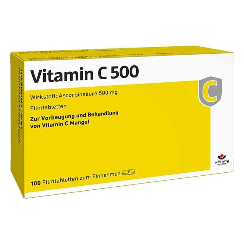 Vitamin C 500 Filmtabletten  bei apo.com bestellen