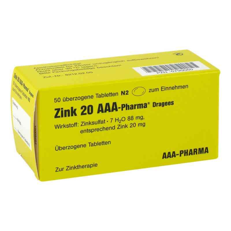 Zink 20 AAA-Pharma  bei apo.com bestellen