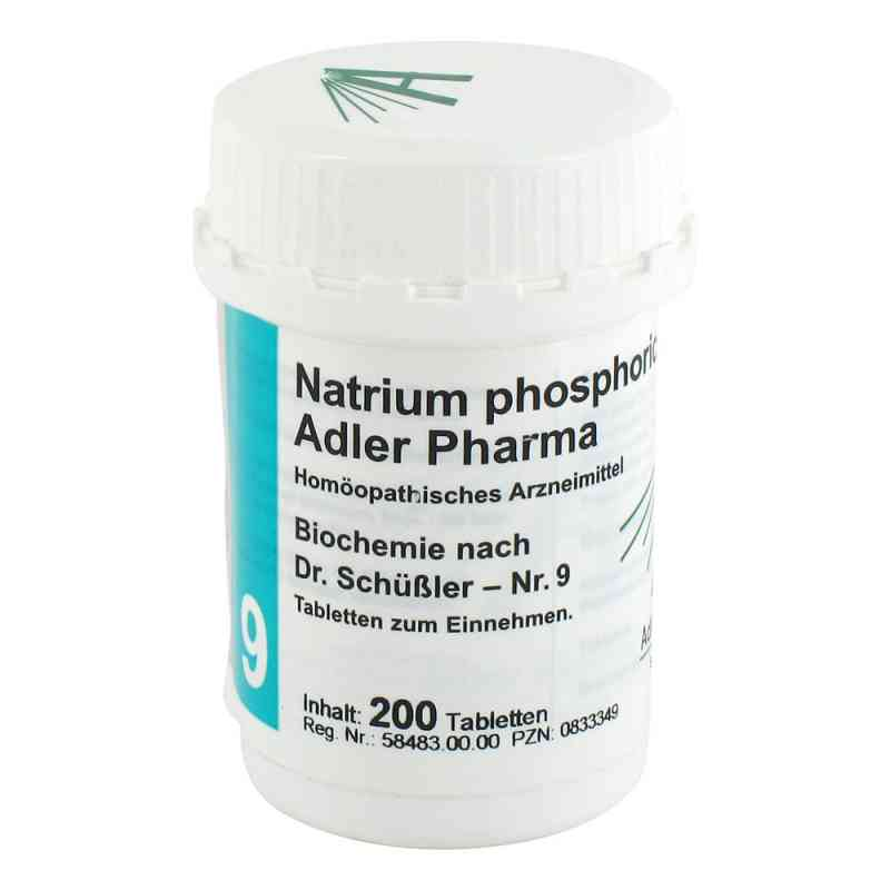 Biochemie Adler 9 Natrium phosphoricum D 6 Adl.ph. Tabletten   bei apo.com bestellen
