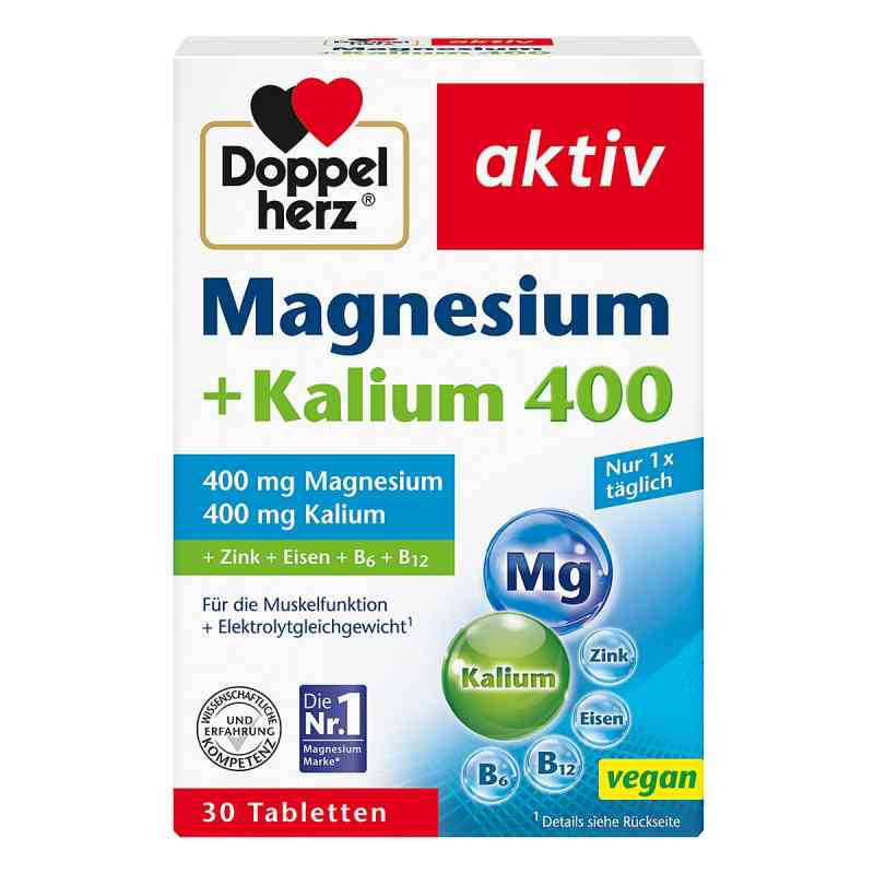 doppelherz magnesium kalium tabletten 30 stk. Black Bedroom Furniture Sets. Home Design Ideas