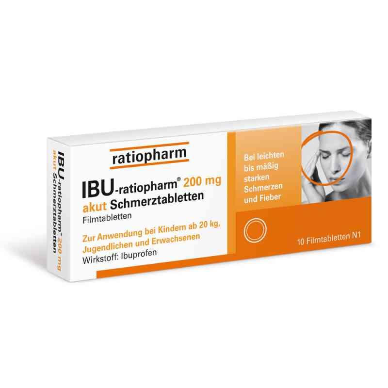 IBU-ratiopharm 200 akut Schmerztabletten  bei apo.com bestellen