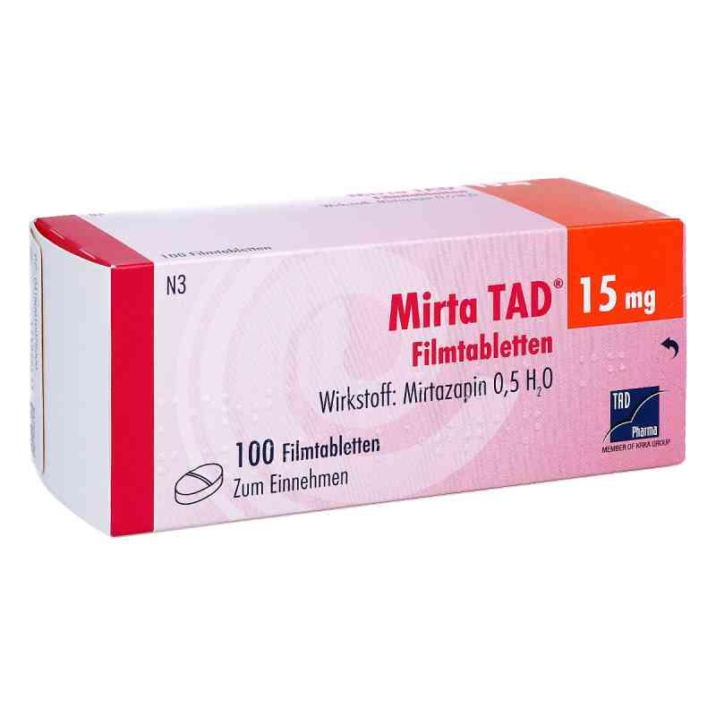 Mirta TAD 15mg 100 stk günstig bei apo.com