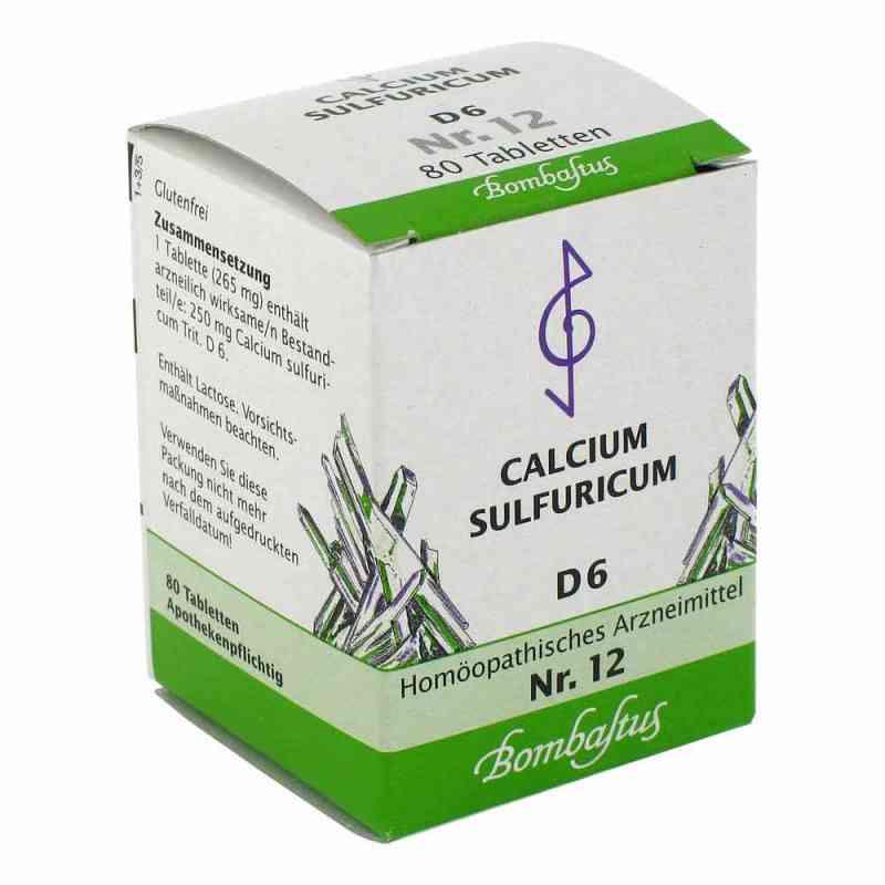 Biochemie 12 Calcium sulfuricum D 6 Tabletten  bei apo.com bestellen