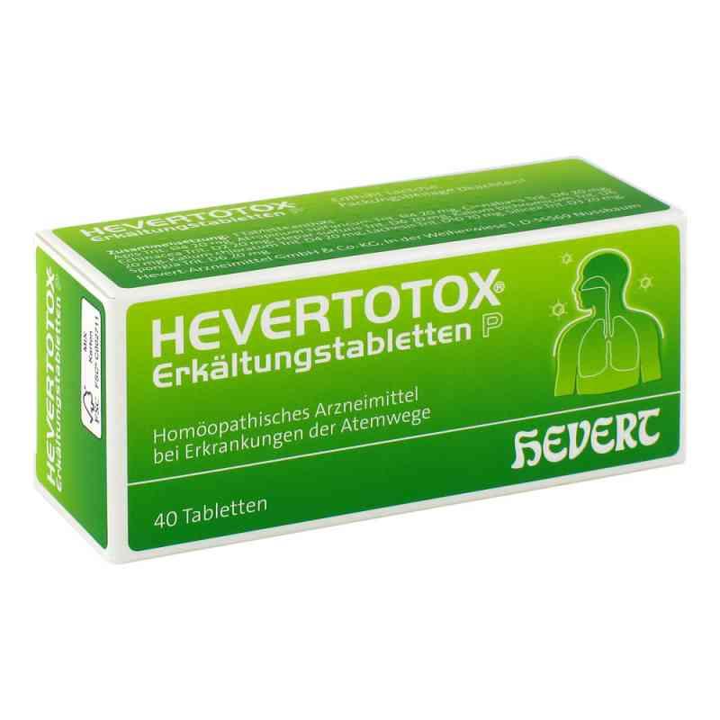 Hevertotox Erkältungstabletten P  bei apo.com bestellen