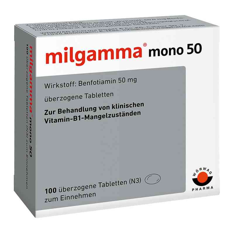 Milgamma mono 50 überzogene Tabletten  bei apo.com bestellen