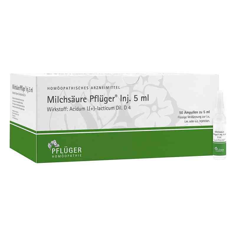Milchsäure Pflüger Injektionslösung 5 ml  bei apo.com bestellen