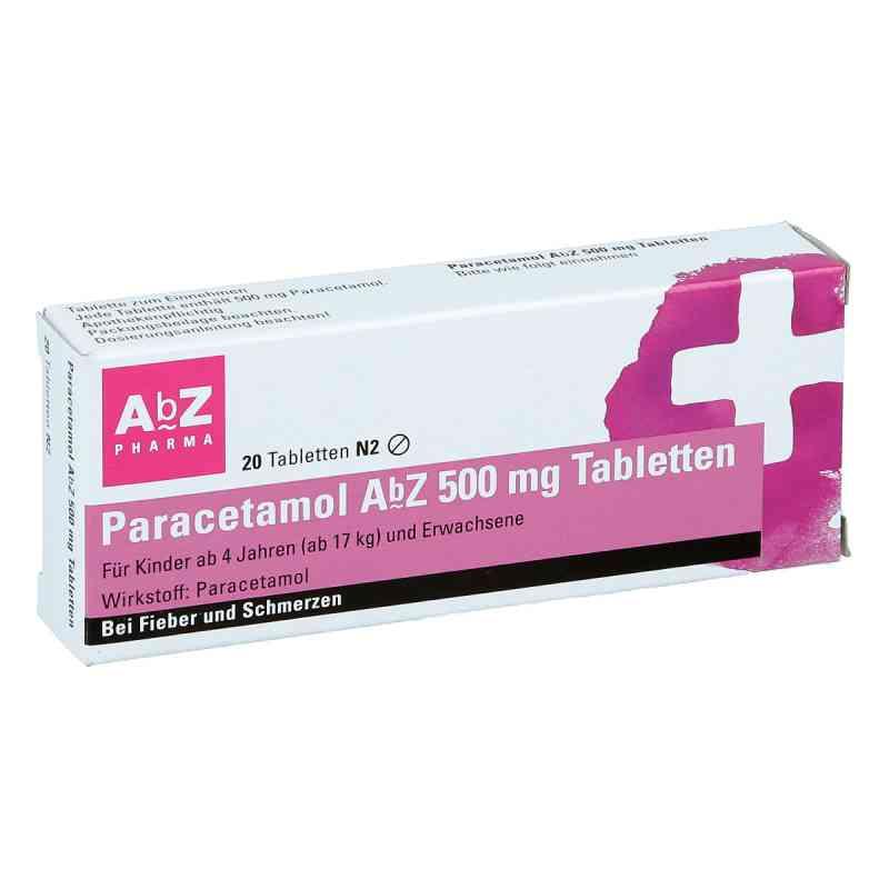 Paracetamol AbZ 500mg  bei apo.com bestellen