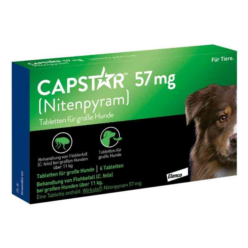 Capstar 57 mg Tabletten für grosse Hunde  bei apo.com bestellen