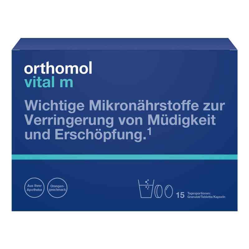 Orthomol Vital M 15 Granulat/kaps.kombipackung  bei apo.com bestellen