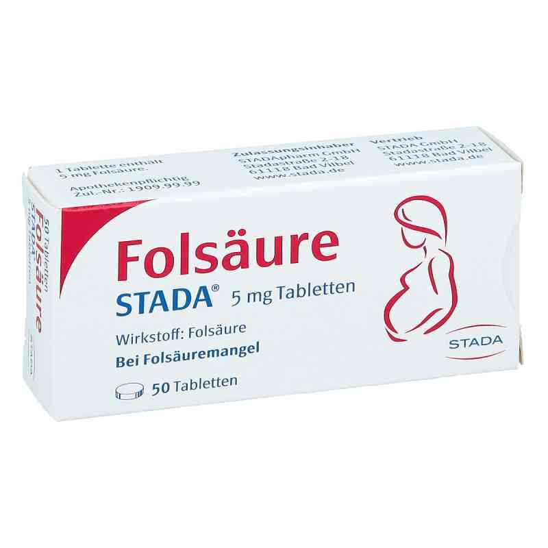 Folsäure Stada 5 mg Tabletten  bei apo.com bestellen