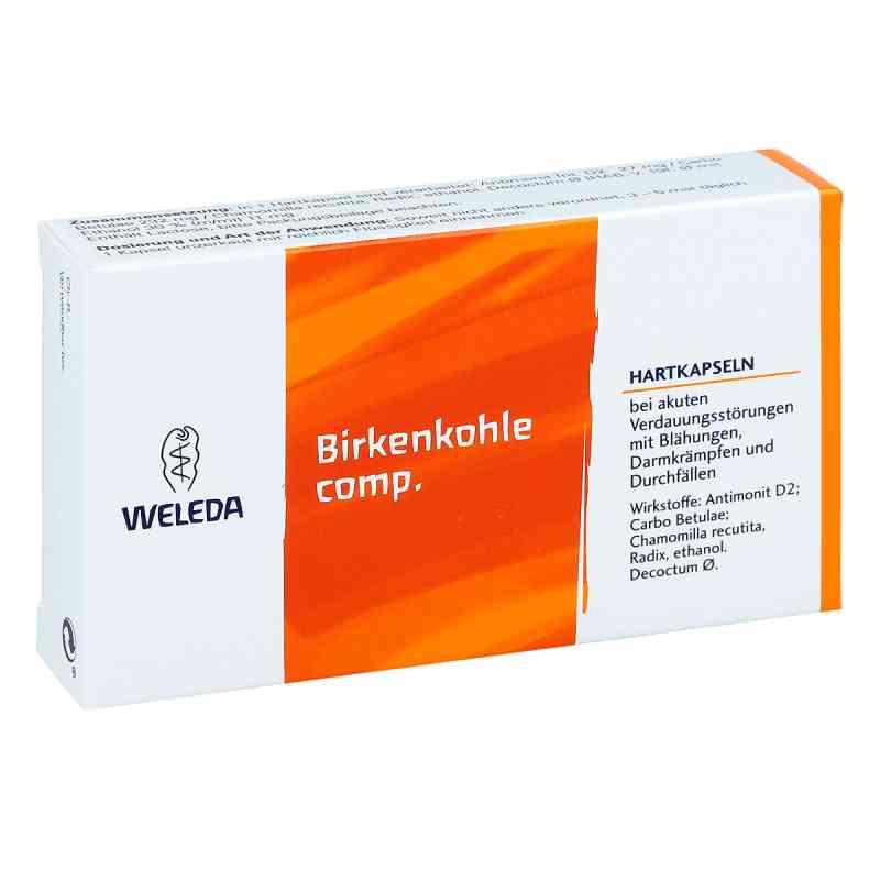 Birkenkohle compositus  Hartkapseln  bei apo.com bestellen